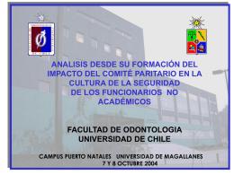 Presentación de PowerPoint - Universidad de Magallanes