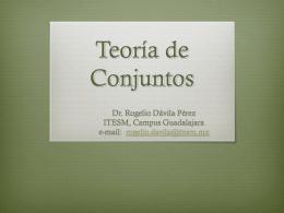Definiciones - Página oficial del Doctor Rogelio Davila Pérez