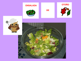 ensalada de otoño con pictos