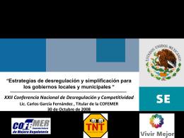 Presentación CGF Conferencia Nacional Chiapas ULTIMAVE