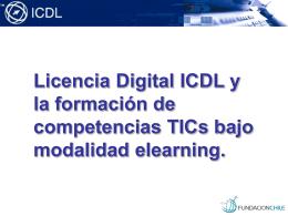 Licencia Digital ICDL