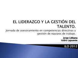 ilo liderazgo y gestion del talento 2012