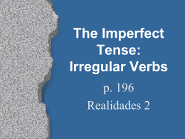p196ImpIrregVerbs teacher copy