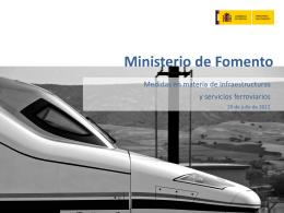servicios ferroviarios