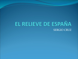 EL RELIEVE DE ESPAÑA - Educastur Hospedaje Web