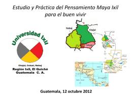 Región Ixil El Quiche