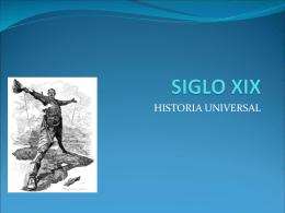 SIGLO XIX - ccm4prepa2014