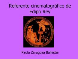 Referente cinematográfico de Edipo Rey