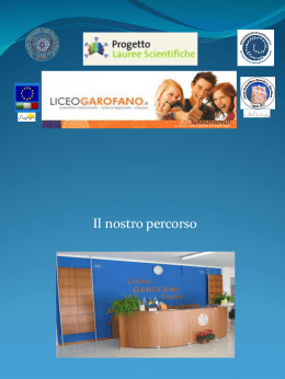 Presentazione alunni Liceo Garofano