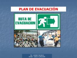 evacuacion y señalizacion de seguridad ee.ss