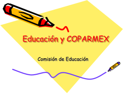 Educación - Coparmex