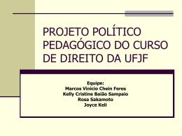 projeto político pedagógico do curso de direito da ufjf