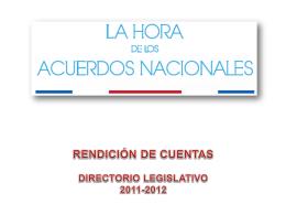 """""""Presentación del discurso emitido ante la prensa"""" en documento PPT"""