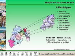 Región 8 - Gobierno del Estado de México