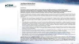 CV José Martínez 01302012