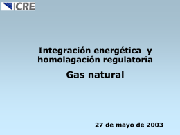 Interconexión en el mercado de gas natural