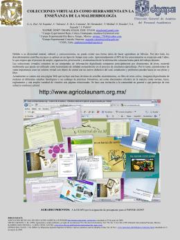 + Colecciones Virtuales como Herramienta en la Enseñanza de la