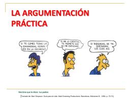 la argumentación práctica - wikidepruebademilagrosmere