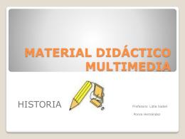 MATERIAL DIDÁCTICO MULTIMEDIA sesión 4