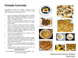 Tostada Caroreña - Fatla-REV