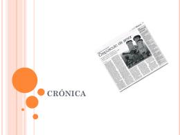 CRONICA - TramixSakai ULP