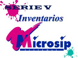 SERIE V - MICROSIP