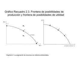 Capítulo 2. La asignación de recursos con efectos ambientales