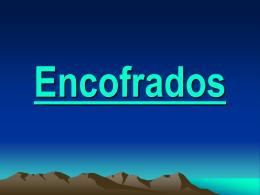 ENCOFRADOS 2007