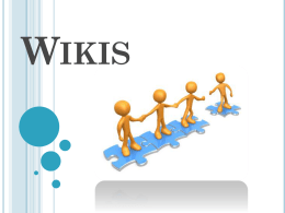 Wikis - Magister