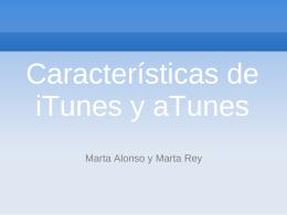 iTunes y aTunes