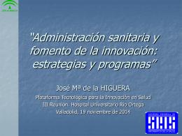 José Mª de la Higuera