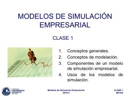 Modelos de Simulación Empresarial
