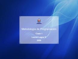 clase 1 - Leonel Lagos