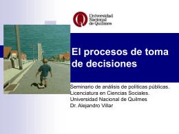 toma_decisioens_f - Universidad Nacional de Quilmes