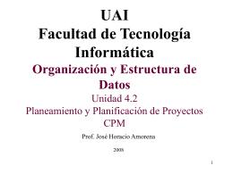 Planeamiento y Planificación de Proyectos 2010