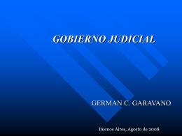 Gobierno Judicial - Proyecto de Mejoramiento de los Servicios de