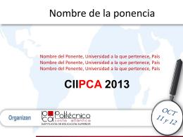 Descargar archivo Posters-Competition CIIPCA 2013