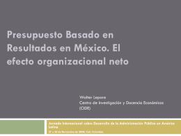 Organizaciones Públicas (gubernamentales)