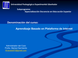 Diapositiva 1 - Salón Virtual de la Universidad Pedagógica
