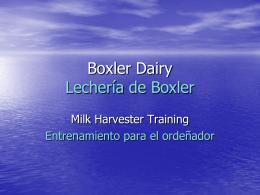 Boxler Dairy
