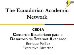 cedia - Internet2