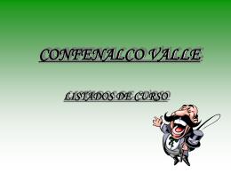 CONFENALCO VALLE
