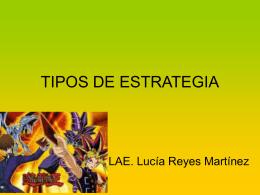 TIPOS DE ESTRATEGIA - administración utim
