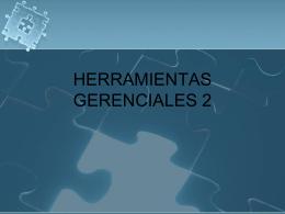 HERRAMIENTAS GERENCIALES 3