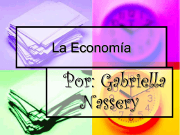 La Economía / Por - North Beach Elementary School