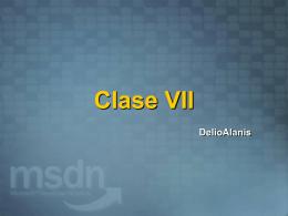 Clase VII - Area para alumnos registrados
