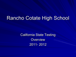 State Test results