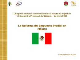 La Reforma del Impuesto Predial en México, Larios