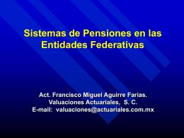Presentación de PowerPoint - Foro Nacional sobre Federalismo y