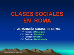 Clases sociales - IES Fuente de la Peña